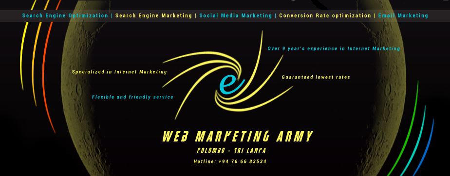 Web Marketing Army - Colombo, Sri Lanka